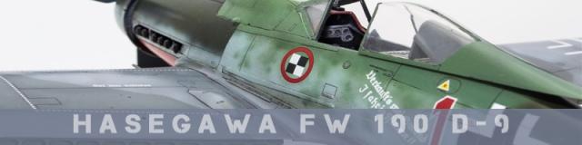 Hasegawa fw 190 d9