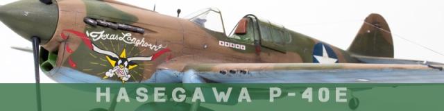 Hasegawa P-40E
